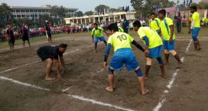 লালমনিরহাটে পুলিশের কাবাডি প্রতিযোগিতা