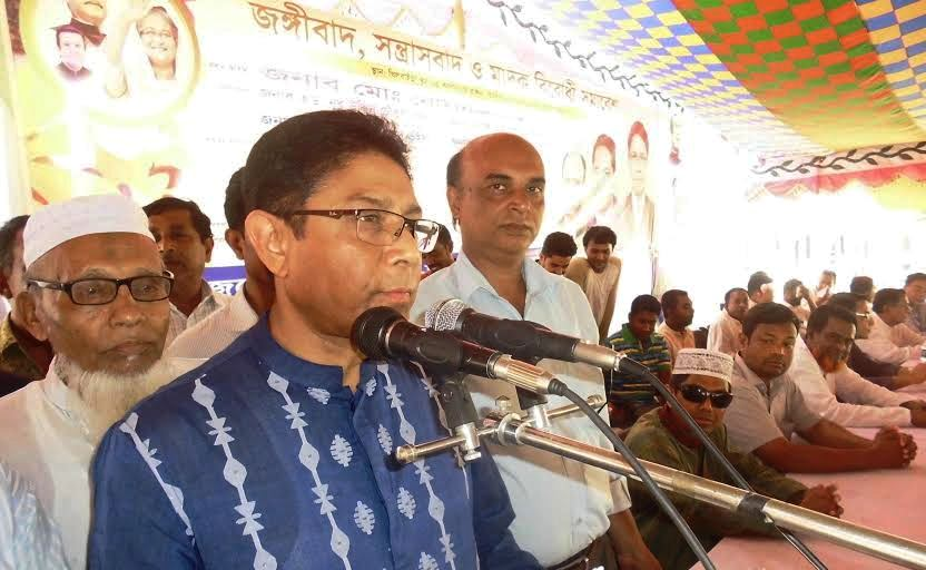 জাতীয় পার্টি ও আওয়ামীলীগ ক্ষমতায় থাকলে দেশে জঙ্গীবাদের স্থান হবে না: নোমান