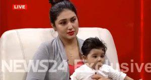 আমি শাকিব খানের সন্তানের মা: সরাসরি টিভি অনুষ্ঠানে অপু বিশ্বাস
