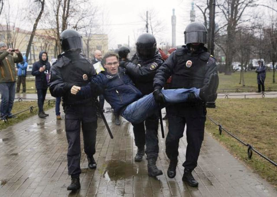 Putin anti-Putin protests in Russia
