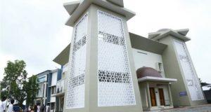 প্রতিবন্ধীদের জন্য মসজিদ: খুৎবার জন্য এলসিডি স্ক্রিন