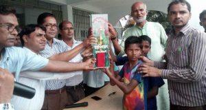 সুবর্ণচরে বঙ্গবন্ধু ও বঙ্গমাতা প্রাথমিক বিদ্যালয় গোল্ডকাপের ফাইনাল খেলা অনুষ্ঠিত
