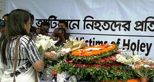 Homage paid to Gulshan Café terror victims
