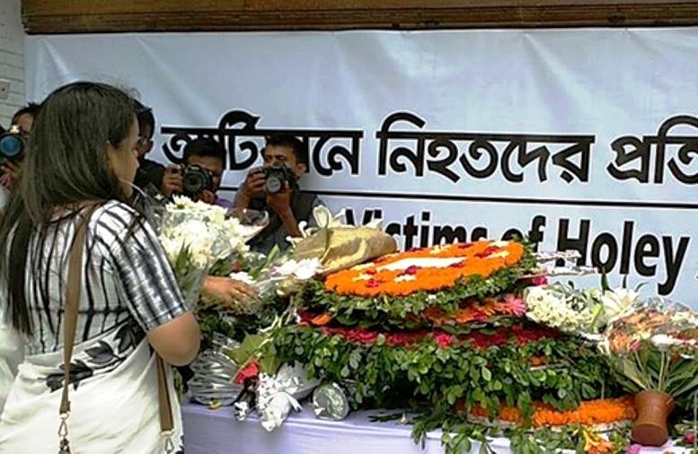 Homage paid to Gulshan Café terror victims