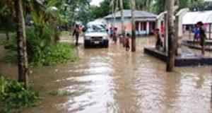 কেশবপুরে ১০ হাজার পরিবার পানিবন্দী: ১০টি আশ্রয় কেন্দ্র