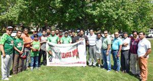কানেকটিকাটে বাংলাদেশিদের ক্রিকেট লীগের উদ্বোধন
