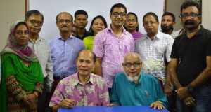 Barry S. Gusi, Chairman 'The Gusi Foundation (Phillipains) visited DORP central office at Dhaka