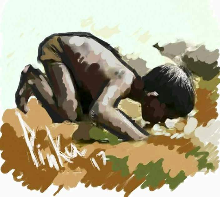 """রোহিঙ্গাদের নিয়ে """"শামসুদ্দিন হীরা'র কবিতা"""" অন্ধকার শুধুই অন্ধকার"""
