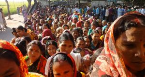 লালমনিরহাটের হাতীবান্ধা উপজেলার উওর গোতামারী ১৩৫ নং বিলুপ্ত ছিটমহলে