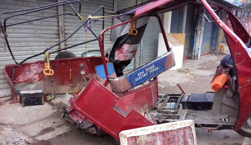 পিকআপ-ইজিবাইক মুখোমুখি সংঘর্ষে নোয়াখালীতে কলেজ ছাত্রী নিহত