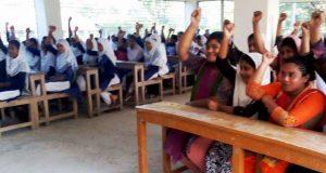 ব্র্যাকের উদ্যোগে বাল্যবিয়েকে না বলল একঝাক শিক্ষার্থী