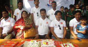মোহনা টেলিভিশনের ৭ম বর্ষপূতিতে মুন্সীগঞ্জে বর্নাঢ্য র্যালী