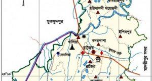 রাজৈরে ইট ভাংগা মেশিনের চাপায় শ্রমিক নিহত: আহত-২