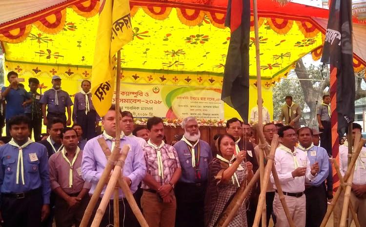 কেশবপুরে ৫ দিনব্যাপি স্কাউটস সমাবেশ উদ্বোধন