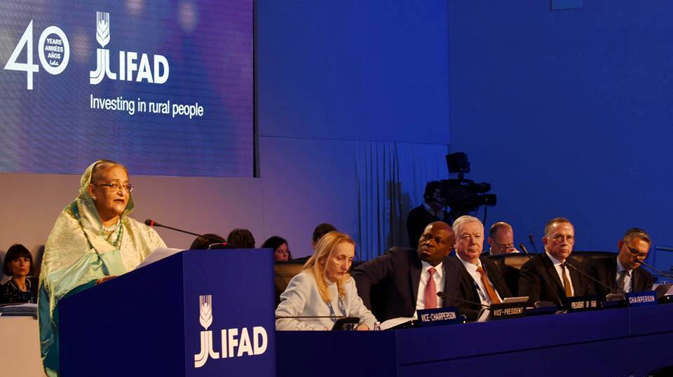 PM asks IFAD to boost rural economy to fight poverty