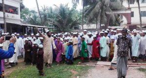 রামগতি উপজেলা নির্বাহী কর্মকর্তাকে অপসারনের দাবীতে মাদ্রাসা ছাত্রদের বিক্ষোভ