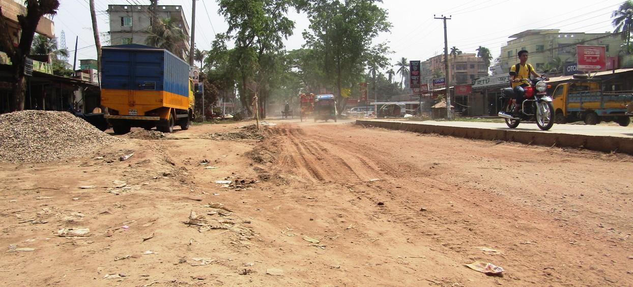 চাঁদপুর-লক্ষ্মীপুর-নোয়াখালী সড়ক