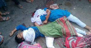 শার্শায় সড়ক দূর্ঘটনায় দুই বোন নিহত: বাবা আহত