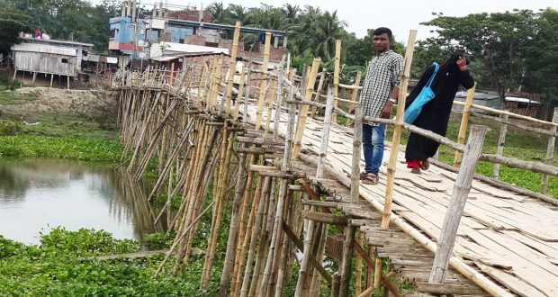 কপোতাক্ষ নদের উপর সেতু নির্মানের দাবী এলাকাবাসীর