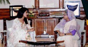 Priyanka Chopra and PM