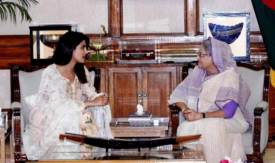 Priyanka Chopra and PM