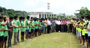 পাবিপ্রবিতে অনুষ্ঠিত হচ্ছে মাদকবিরোধী প্রীতি ফুটবল টুর্নামেন্ট