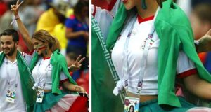 বিশ্বকাপে ভাইরাল হলো ইরানি তরুণীর আইডিকার্ড
