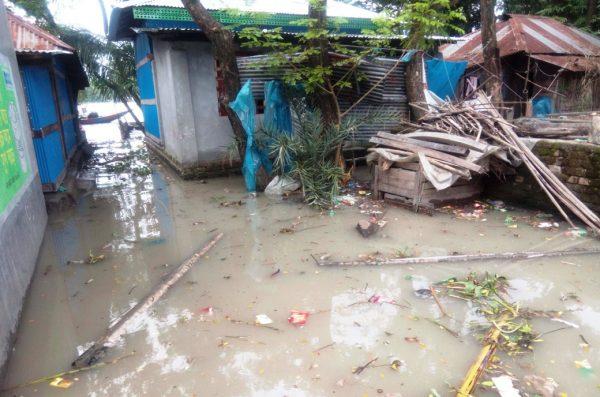 ইন্দুরকানীতে পানি বৃদ্ধি: ২০ গ্রাম প্লাবিত