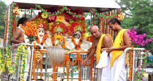 খাগড়াছড়িতে জগন্নাথ দেবের বর্ণাঢ্য রথযাত্রা উৎসব