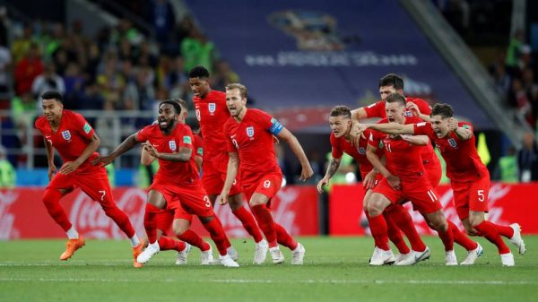 England beat England in quarter-finals