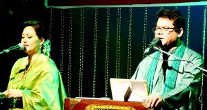 কামাল আহমেদ ও আফসানা রুনা