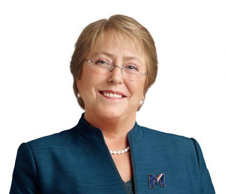 Former Chilean President Michelle Bracelet