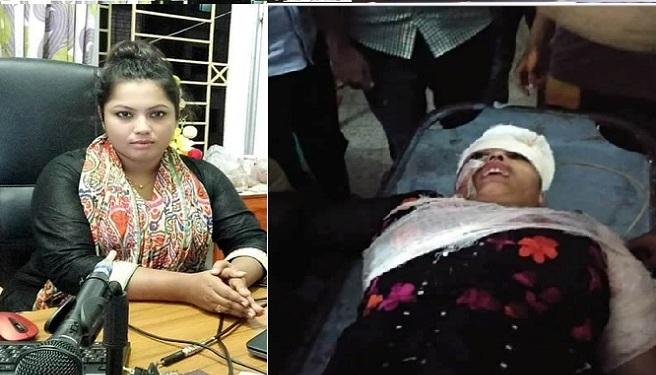'আনন্দ টিভি'র পাবনা প্রতিনিধি সুবর্ণা আক্তার নদী
