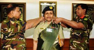 বাংলাদেশ সেনাবাহিনীর প্রথম নারী মেজর জেনারেল হলেন সুসানে গীতি
