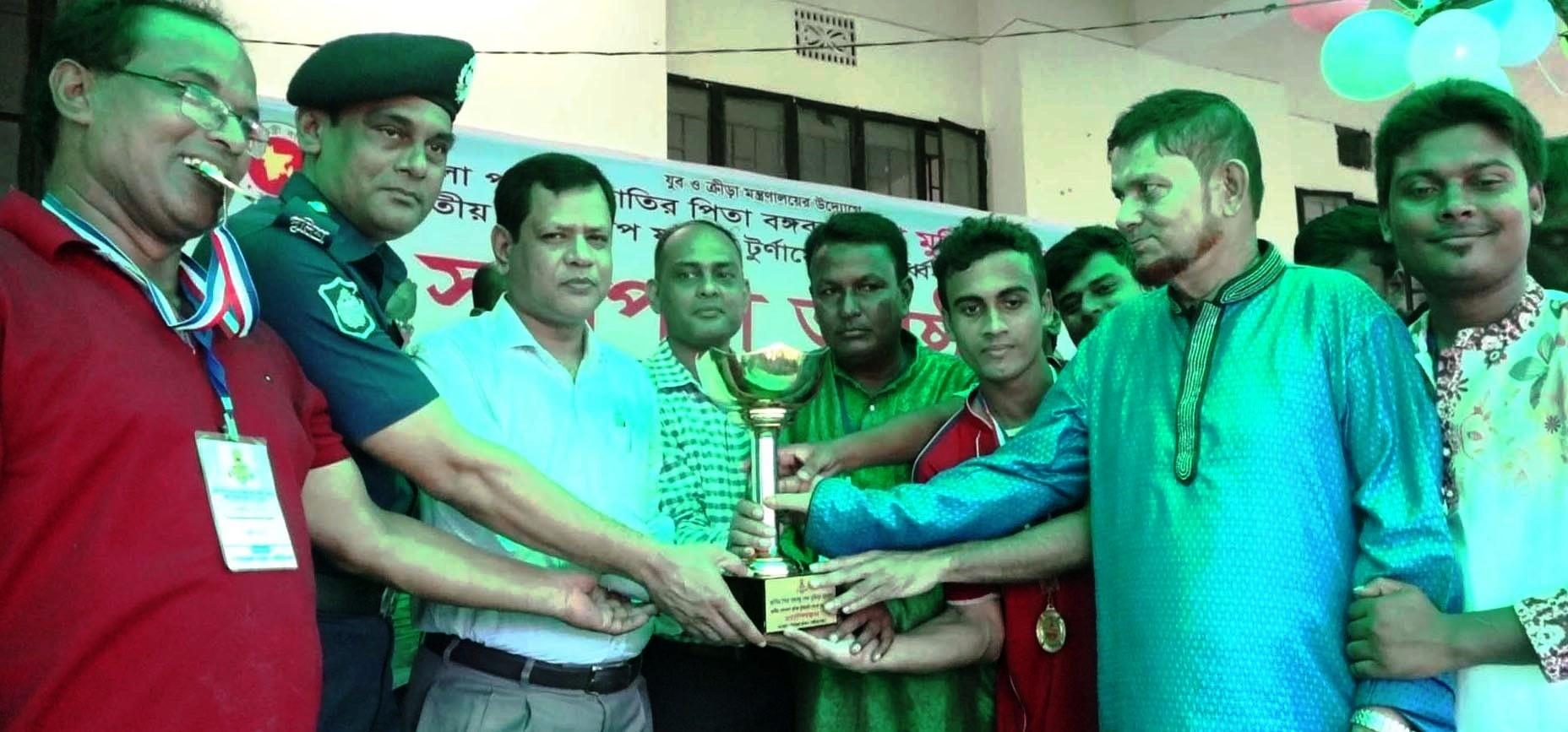 বঙ্গবন্ধু জাতীয় গোল্ডকাপ ফুটবল টুর্ণামেন্ট: চ্যাম্পিয়ন উত্তর জয়পুর