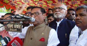 বিএনপি ২০১৪ সালের মতো নাশকতার পরিকল্পনা করছে: ওবায়দুল কাদের