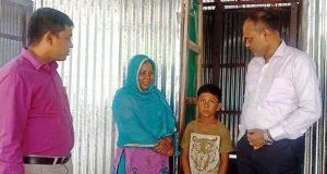 সরকারী ভাবে বিনামূল্যে ঘর পেলো দরিদ্র পরিবার গুলো