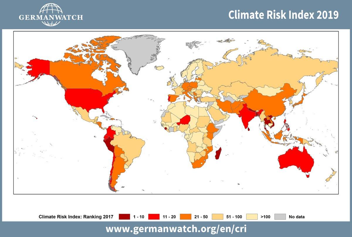 Global Climate Risk Index-2019