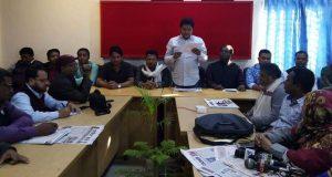 ঐক্যফ্রন্ট প্রার্থী এ্যানী ঢাকা থেকে সন্ত্রাসী বাহিনী এনে নির্বাচন কার্যক্রম পরিচালনা করার অভিযোগ