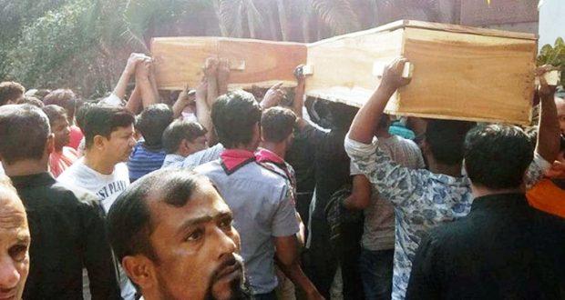 চকবাজার অগ্নিকাণ্ড: মরদেহ বুঝে নিচ্ছেন স্বজনরা