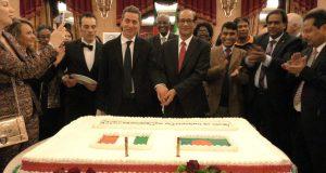 স্বাধীনতা দিবস উপলক্ষে ইতালিতে বাংলাদেশ দূতাবাসের কূটনৈতিক কোরের সম্মানে সংবর্ধনা