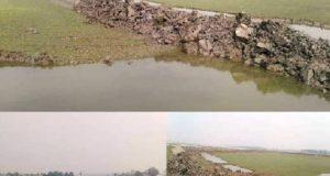 দখল হয়ে যাচ্ছে শিবসা নদী