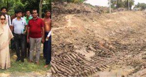 নদী ও খাল খনন কাজ পরিদর্শন করলেন ইসমাত আরা সাদেক এমপি