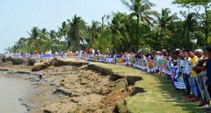 বাজেটে নদীভাঙন রোধে বরাদ্দ চান কমলনগর ও রামগতির মানুষ