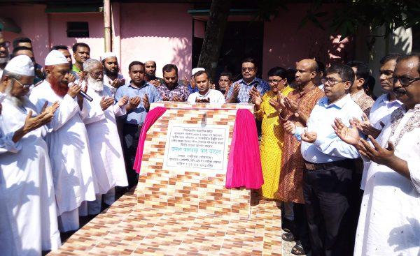 লক্ষ্মীপুর পৌরসভার ওয়াটার সাপ্লাই প্রকল্পের ভিত্তিপ্রস্থর স্থাপন