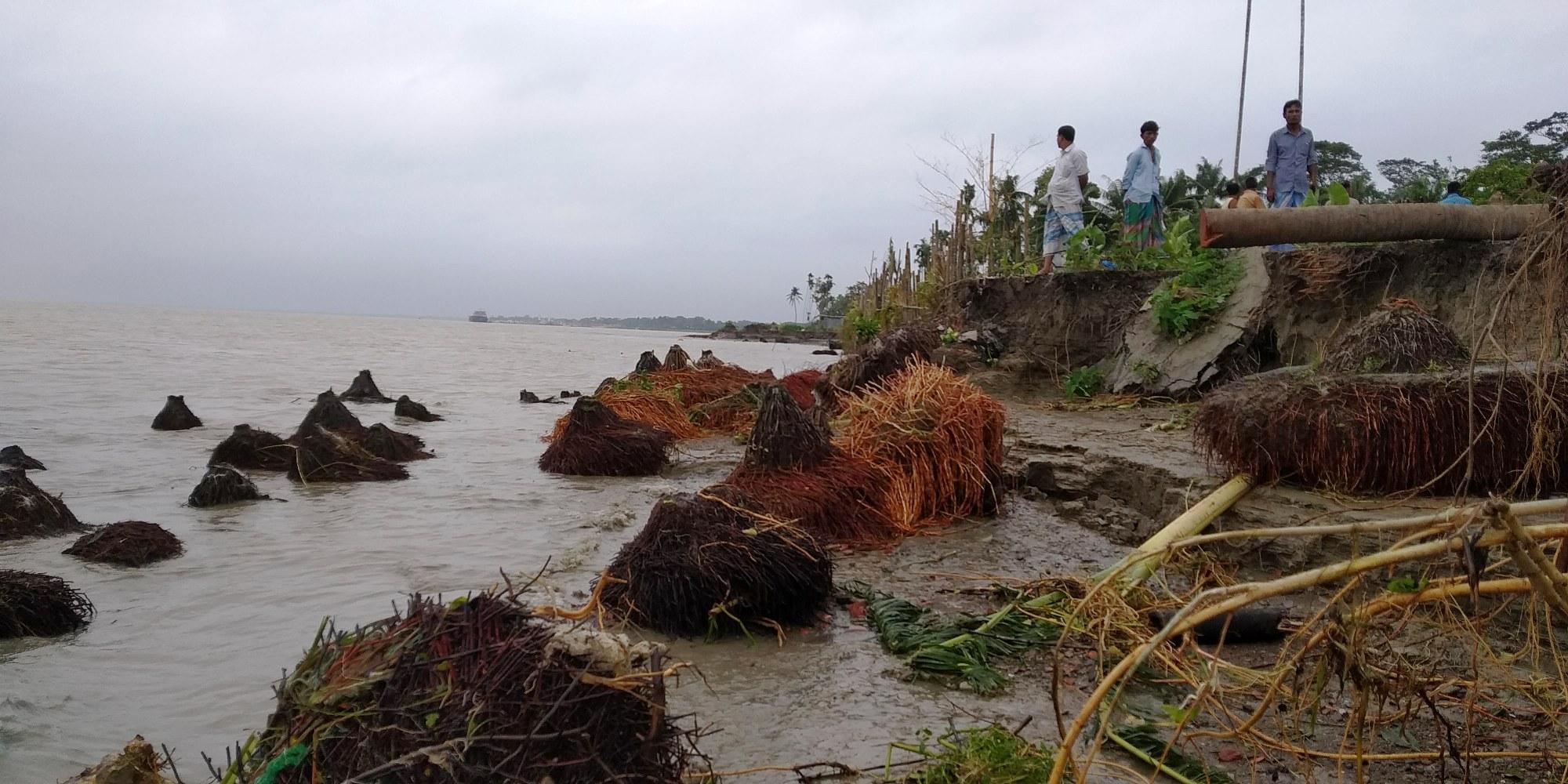 মেঘনার ভাঙনে নিঃস্ব রামগতি-কমলনগর উপজেলার লাখো মানুষ